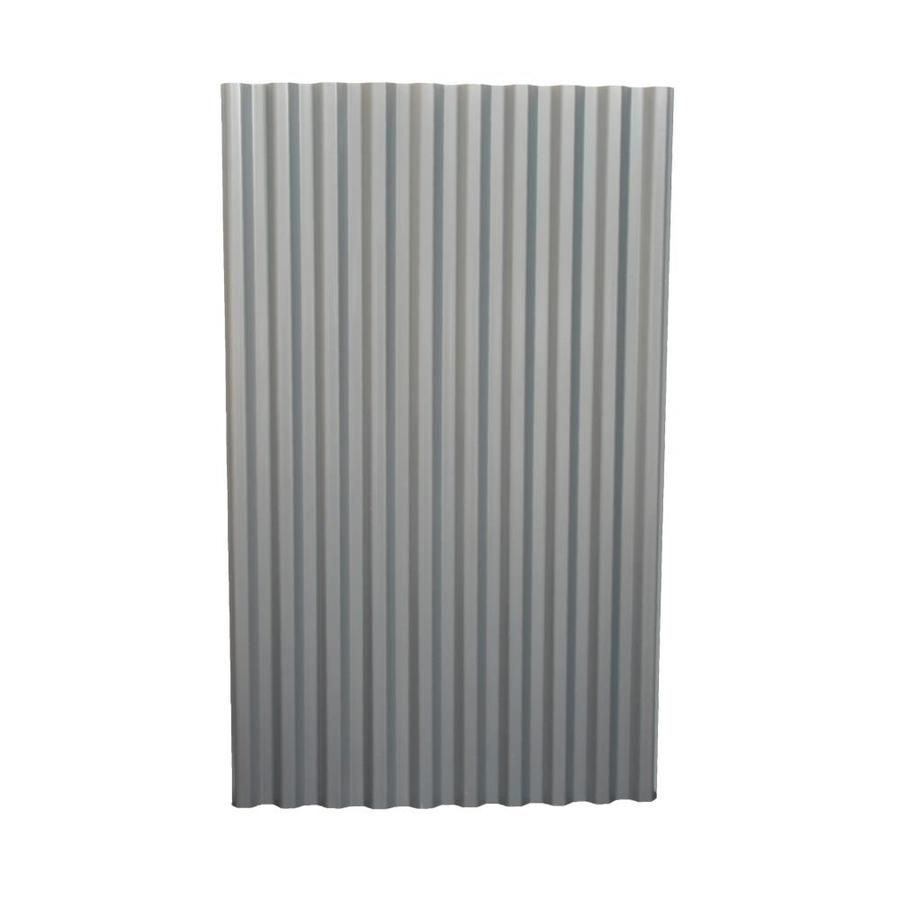 Tuftex Polydecor 2 17 Ft X 3 5 Ft Corrugated Gray Polycarbonate Plastic Roof Panel Lowes Com Corrugated Plastic Panels Roof Panels Corrugated Plastic Sheets