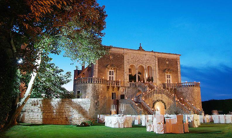 Luxury Wedding Venues In Puglia Meval Castles