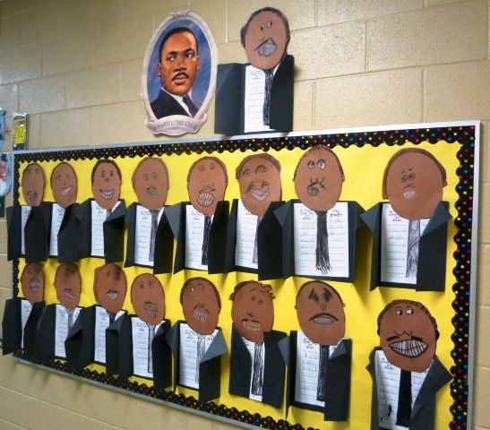 forkin4th: My Dream (A Martin Luther King Inspired Bulletin Board)