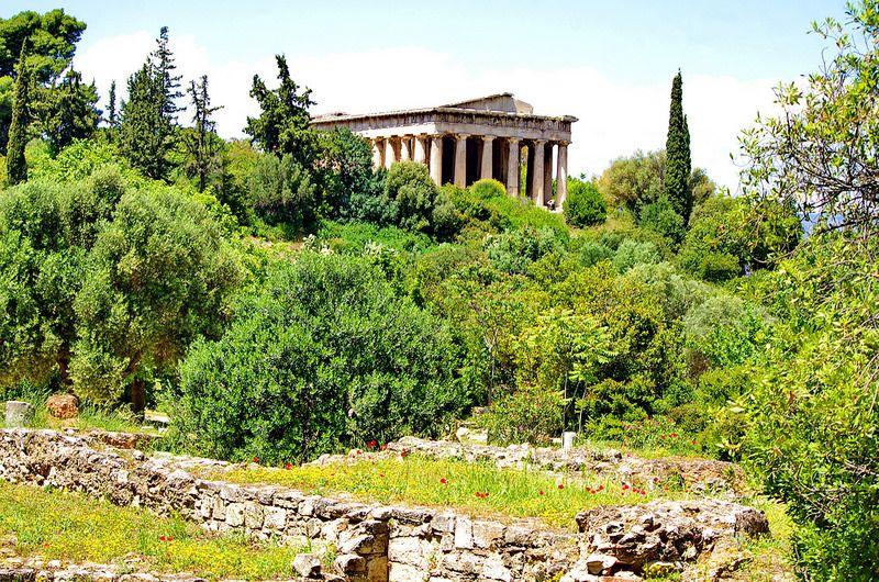 Athenes 347 Archea Agora Athinon Hephaisteion Explore