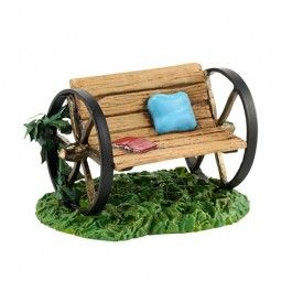 Village Accessories - My Garden Bench | Department 56 Villages, Free Shipping on Dept 56