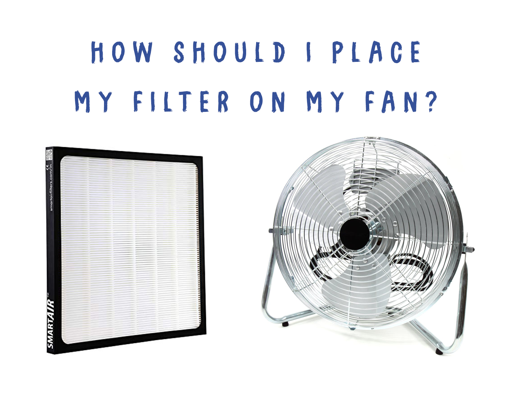 Should air purifiers have the filter on the front or back