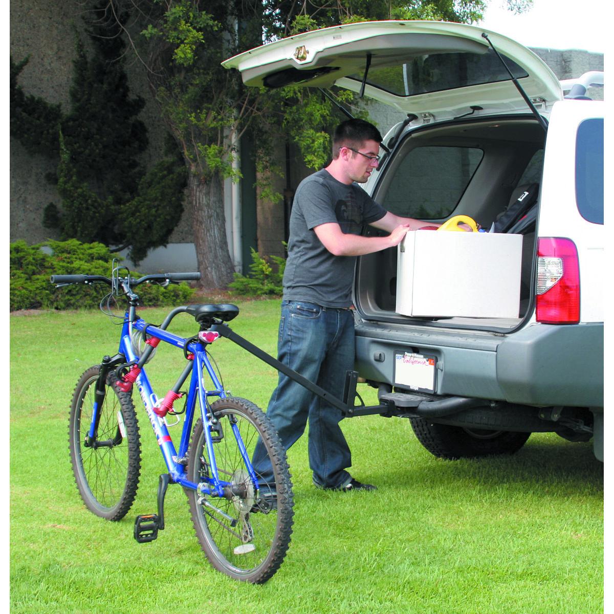 Two Bike Hitch Mount Bike Rack Efficient Living Hitch