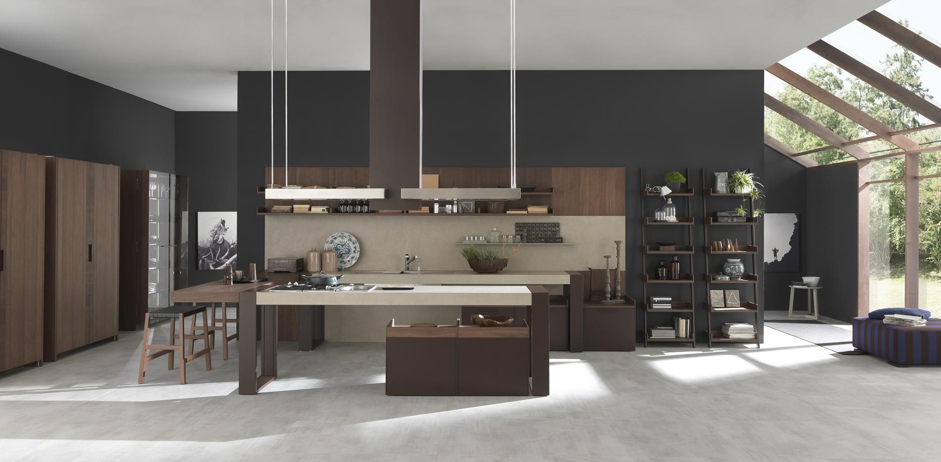captivating innovative kitchen ideas. Organic Materials And Innovative Design Marries Arts Crafts Influences With Modern. Captivating Kitchen Ideas