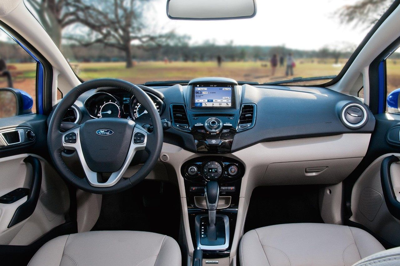 2018 Ford Fiesta Titanium Interior Ford Fiesta Best Family Cars Ford