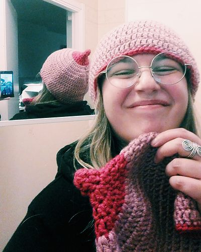The Tithead Free Crochet Boob Hat Pattern In English And Swedish