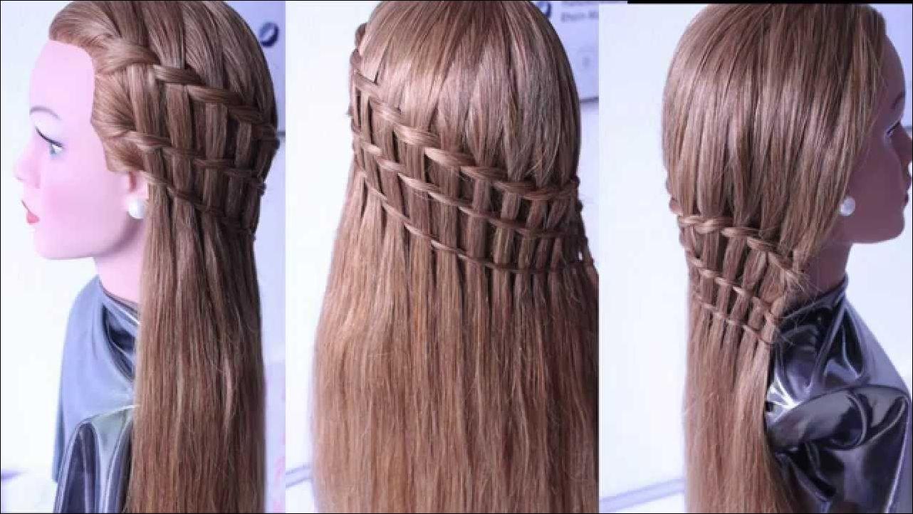 Flechtfrisur Für Lange Haare Bis Schulterlange Haare