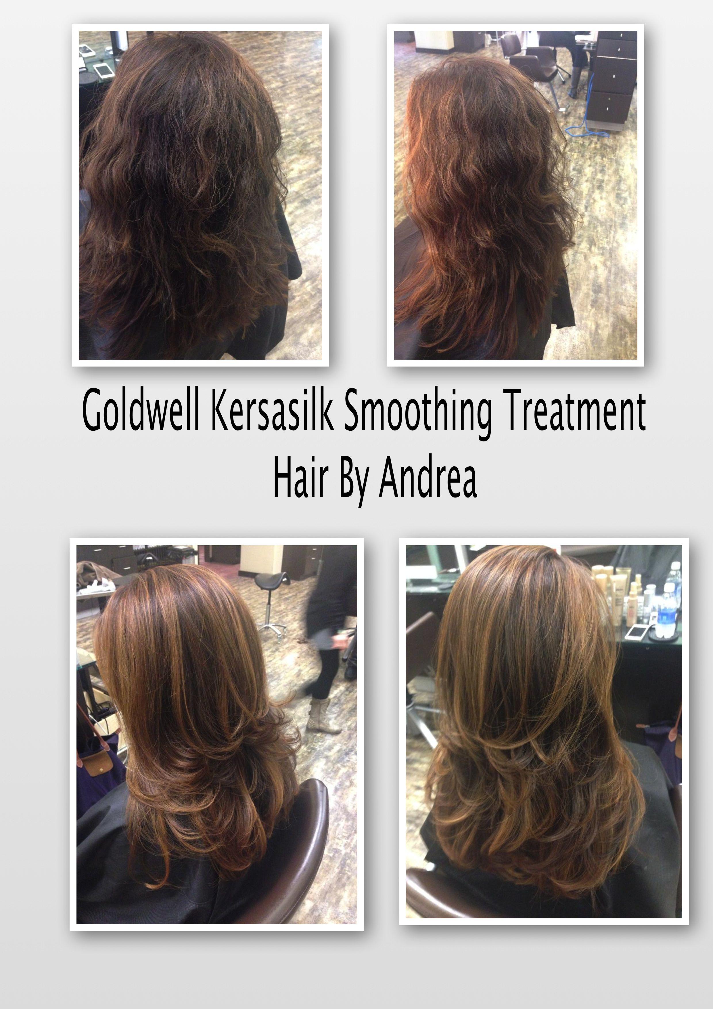 Goldwell Kerasilk Smoothing Treatment Hair By Andrea Andrea At