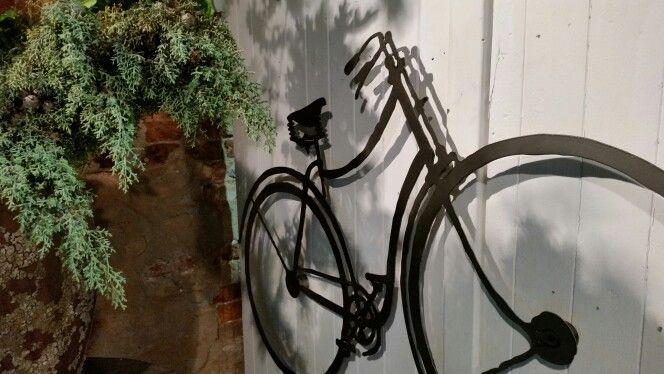 Metalen fiets metaal