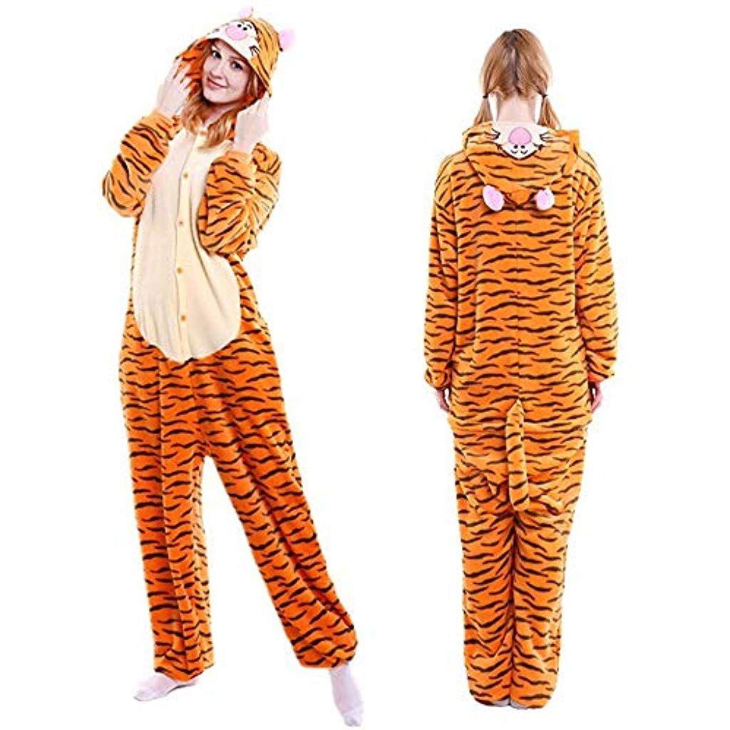 c273425df954b Le Jeu de rôle en Pyjama Animal Mignon Cartoon Hommes et Femmes série des  Animaux en