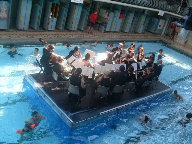 No 1 If You Were To Have A Gig On A Floating Stage In The Middle Of A Swimming Pool With Lots