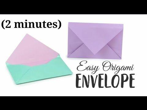 Photo of Origami-Umschlag In (2 Minuten)