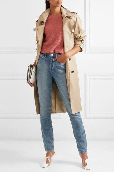 W4 Shelter Slim High-rise Slim Straight Jeans - Blue 3x1 ywVAlKr0