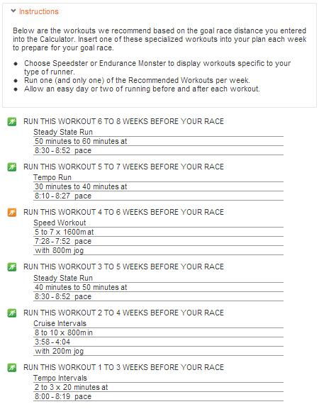 Mcmillan Running Calculator Running Pinterest Running