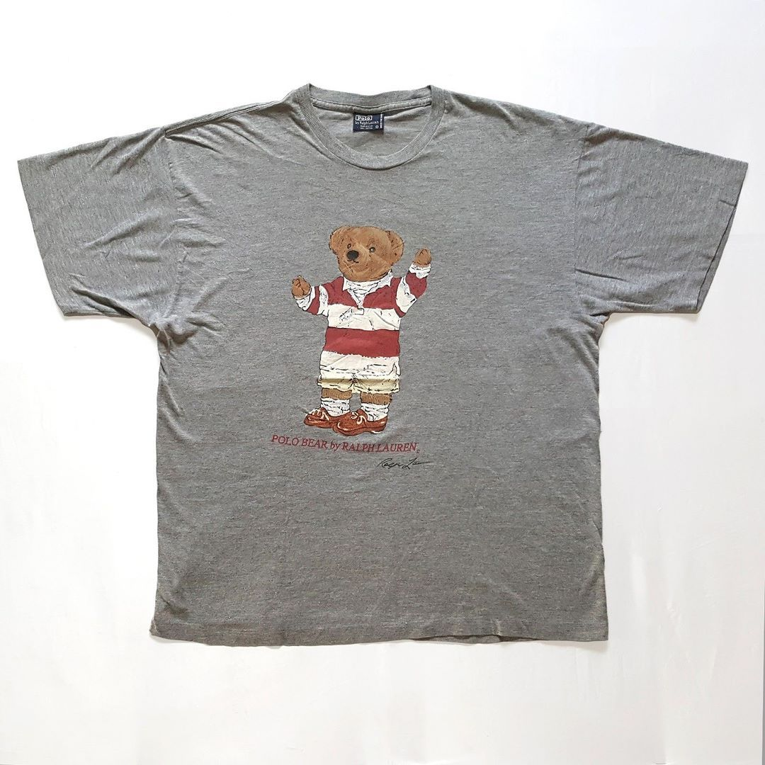 dcf8b73a3 Vintage Polo Sport Ralph Lauren Rugby Bear T-Shirt for sale!  155 ...