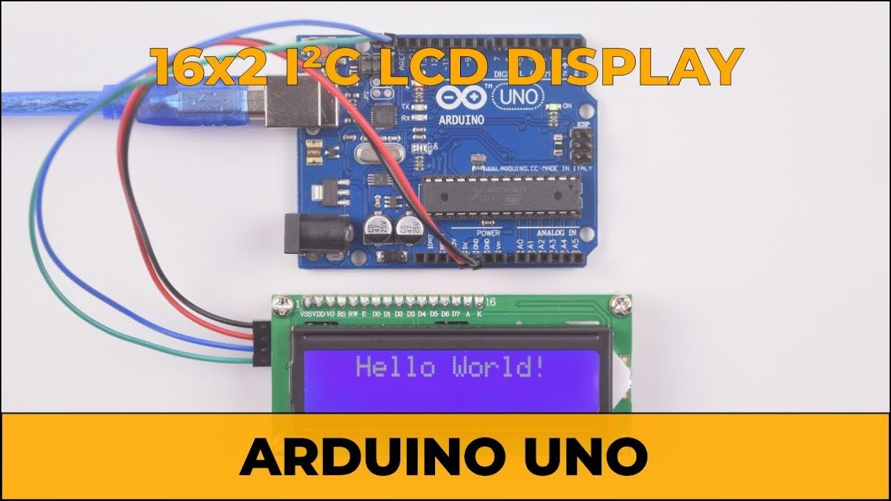 Arduino Uno | 16x2 I2C LCD Display | Tutorial & Project