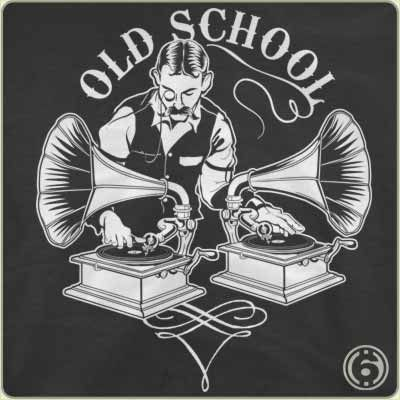 Old Timey Dj T Shirt Has Just Appeared On Www Shirtrater Com Do You Like This Shirt Beat Disc Jockey Dj Love Music Mix Old School Music Dj Art Dj
