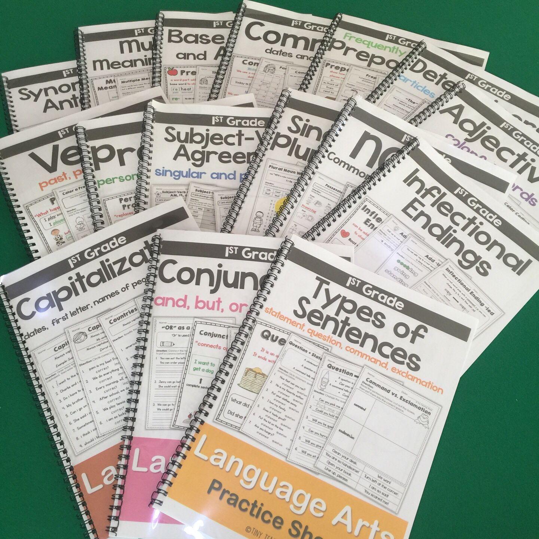 First Grade Common Core Language Arts