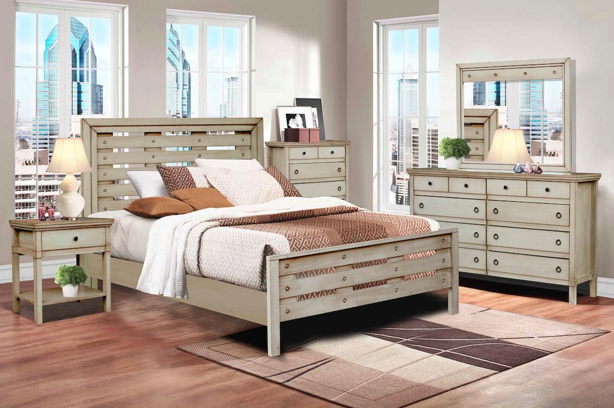 Bfg brazil furniture group hudson valley solid wood bedroom set