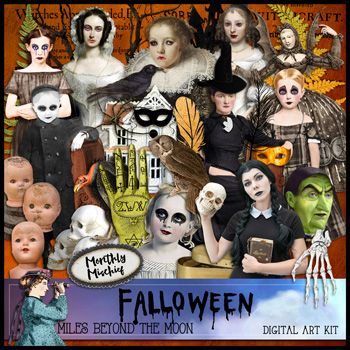 Monthly Mischief ~ Falloween~ by Miles Beyond the Moon