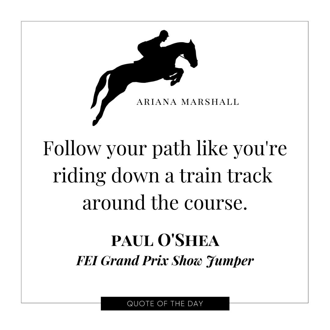 Looking For More Gems Check Out The 2020 Jumper Rider S Journal For More Gems From Irish National Team Show Jumper Paul O Sh Rider Black Horses Horse Dressage