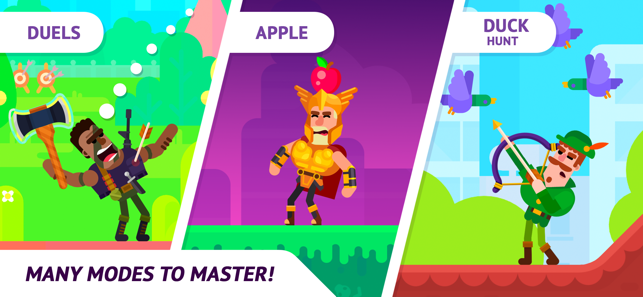 ‎Bowmasters Multiplayer Game on the App Store