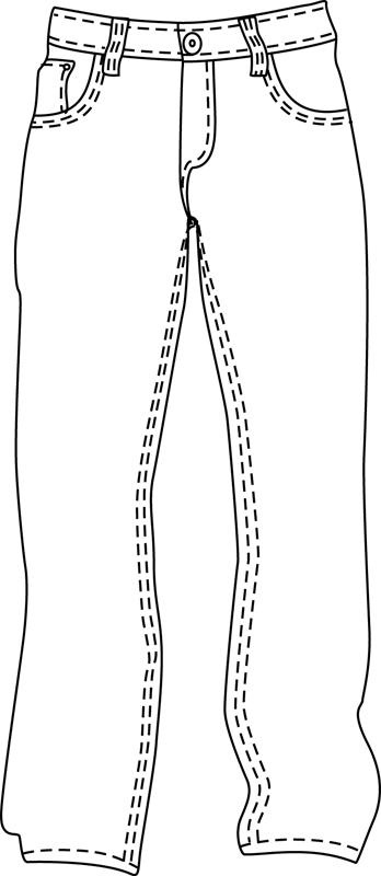 DessinColoriage A Dessin Imprimer PantalonIllustration Et Un WEdrQxBeCo