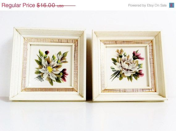 Shop SALE 30 Off Antique Floral Pictures by PrettyShinyThings4U ...