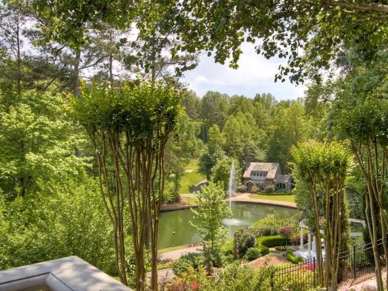 Beautiful backyard! 40 Cates Ridge Road, Atlanta, Georgia 30327 ...