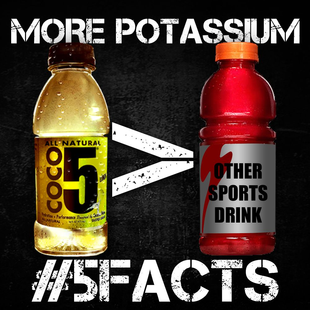 Did you know Coco5 has more potassium than other leading
