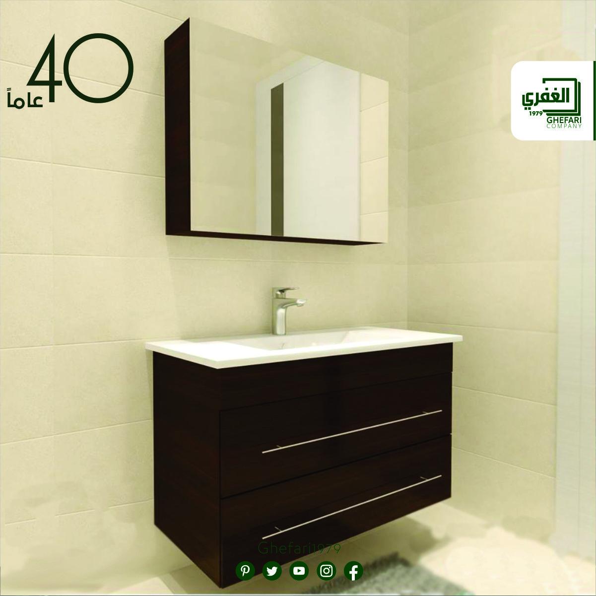 خزانة حمام عدة مقاسات متوفر بعدة الوان مرايا خزانة خزانة خشب مقاوم للماء للمزيد زورونا على موقع الشركة Ww Vanity Single Vanity Bathroom Vanity