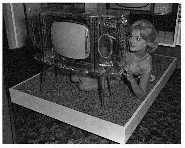See through TV