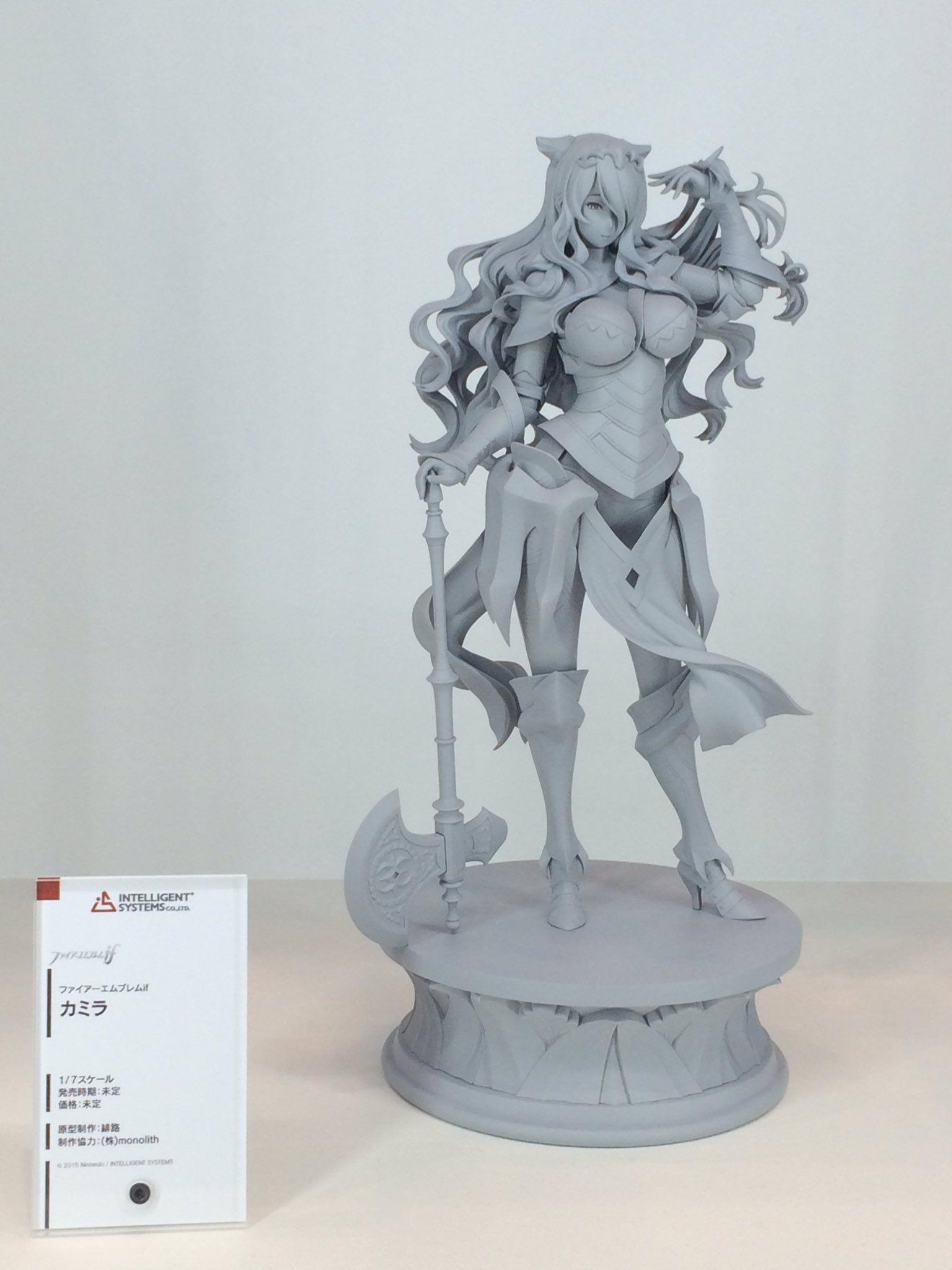 Camilla Scale Figure Prototype