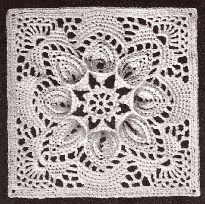 Find thread crochet patterns for bedspreads , doilies, bookmarks ...