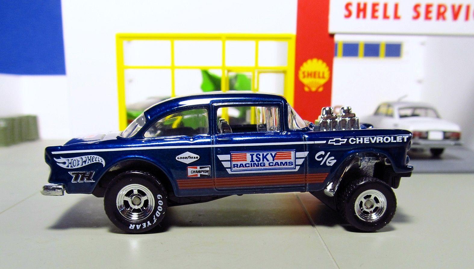 Hot Wheels Super Treasure Hunt Chevy Bel Air Gasser Hotwheels Volkswagen Baja Bug White Tropicool Series
