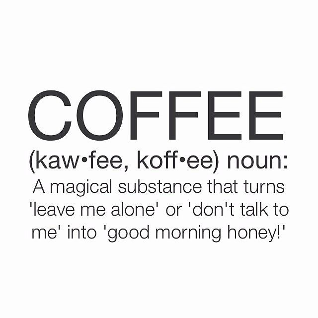 """Good morning honeys! Have you had your dose of caffeine this morning? ❤️☕️ #coffee #goodmorning #awake #happy #tuesday #letsdothis #winter"""