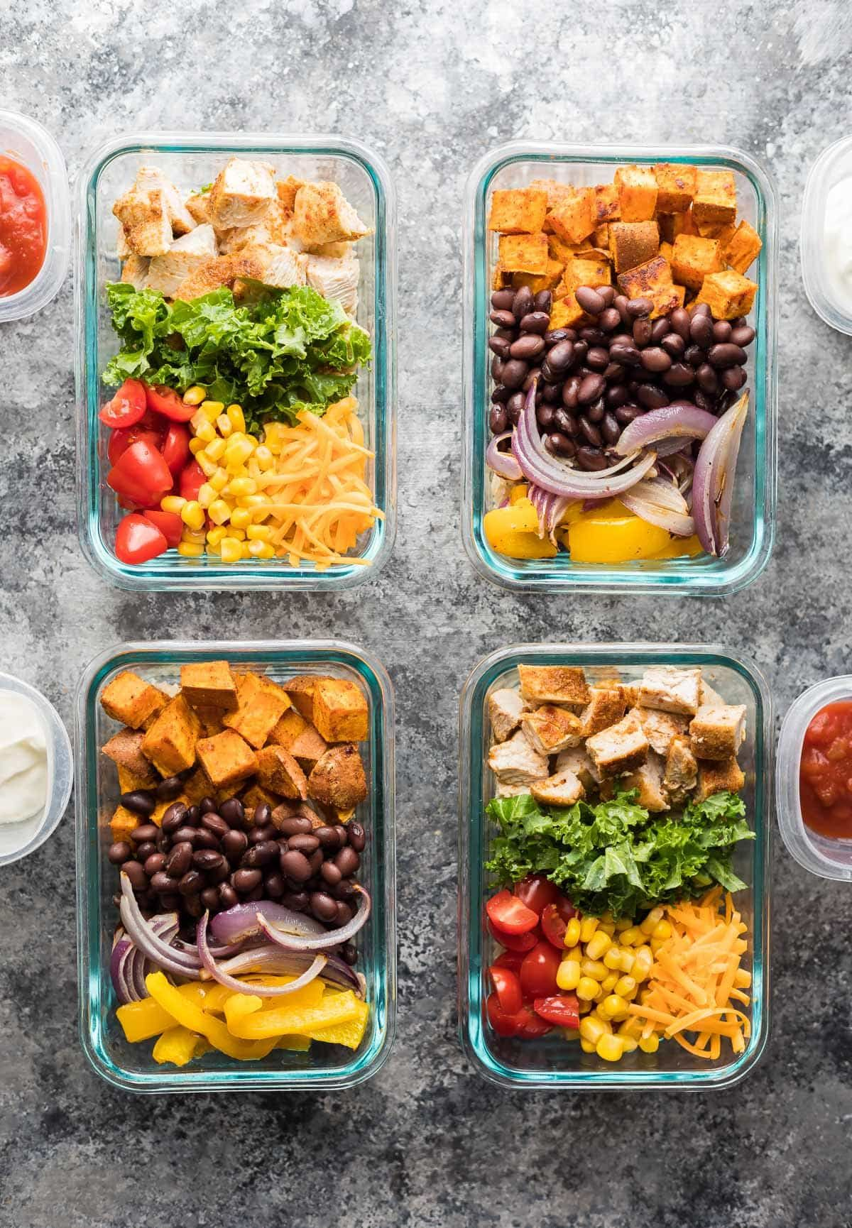 Mix match meal prep burrito bowls recipe burrito bowls gluten mix match meal prep burrito bowls forumfinder Image collections