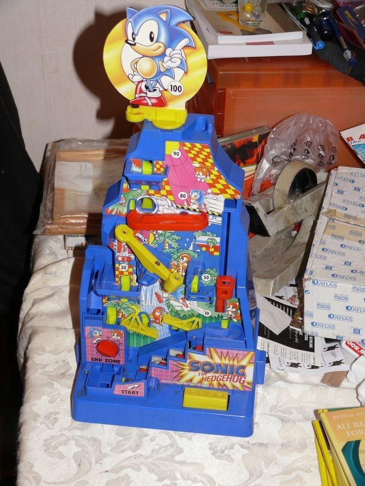 Sonic The Hedgehog Mountain Quest Toy Game Made By Tomy Age 5 Sonic The Hedgehog Sonic Classic Toys