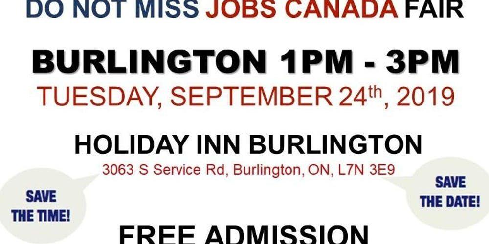 Looking for a job? Direct interview? BurlingtonJobFair
