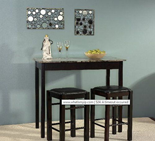 Dining Room Sets For Small Es 3 Pieces E Counter