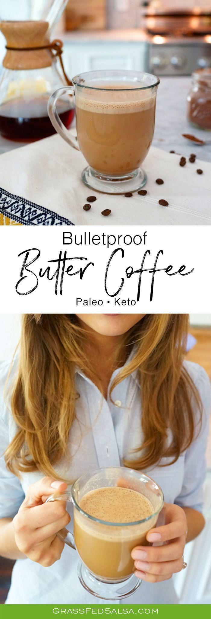 Butter Coffee Recipe Butter coffee recipe, Butter