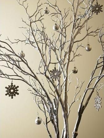 How To Decorate Tree Branches For A Winter Wonderland Themed Party Ehow Tree Wedding Centerpieces Branch Centerpieces Tree Branch Centerpieces