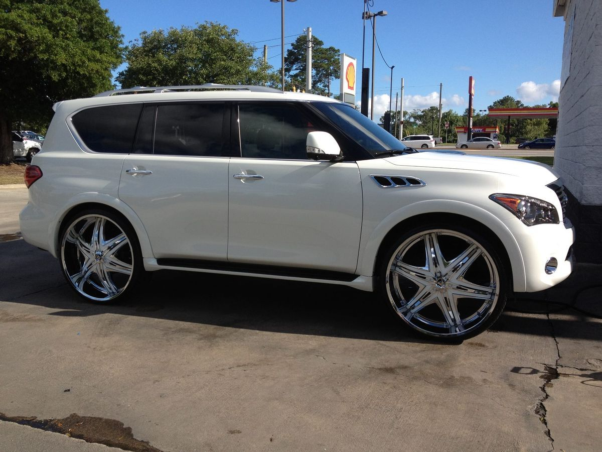 Qx56 on 26 rims diabloelite30cinfinitiqx56 custom built qx56 on 26 rims diabloelite30cinfinitiqx56 vanachro Gallery