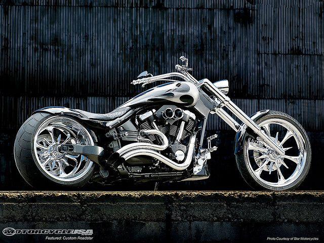 Yamaha Motorcycle Cruiser Custom Warrior With Images Yamaha