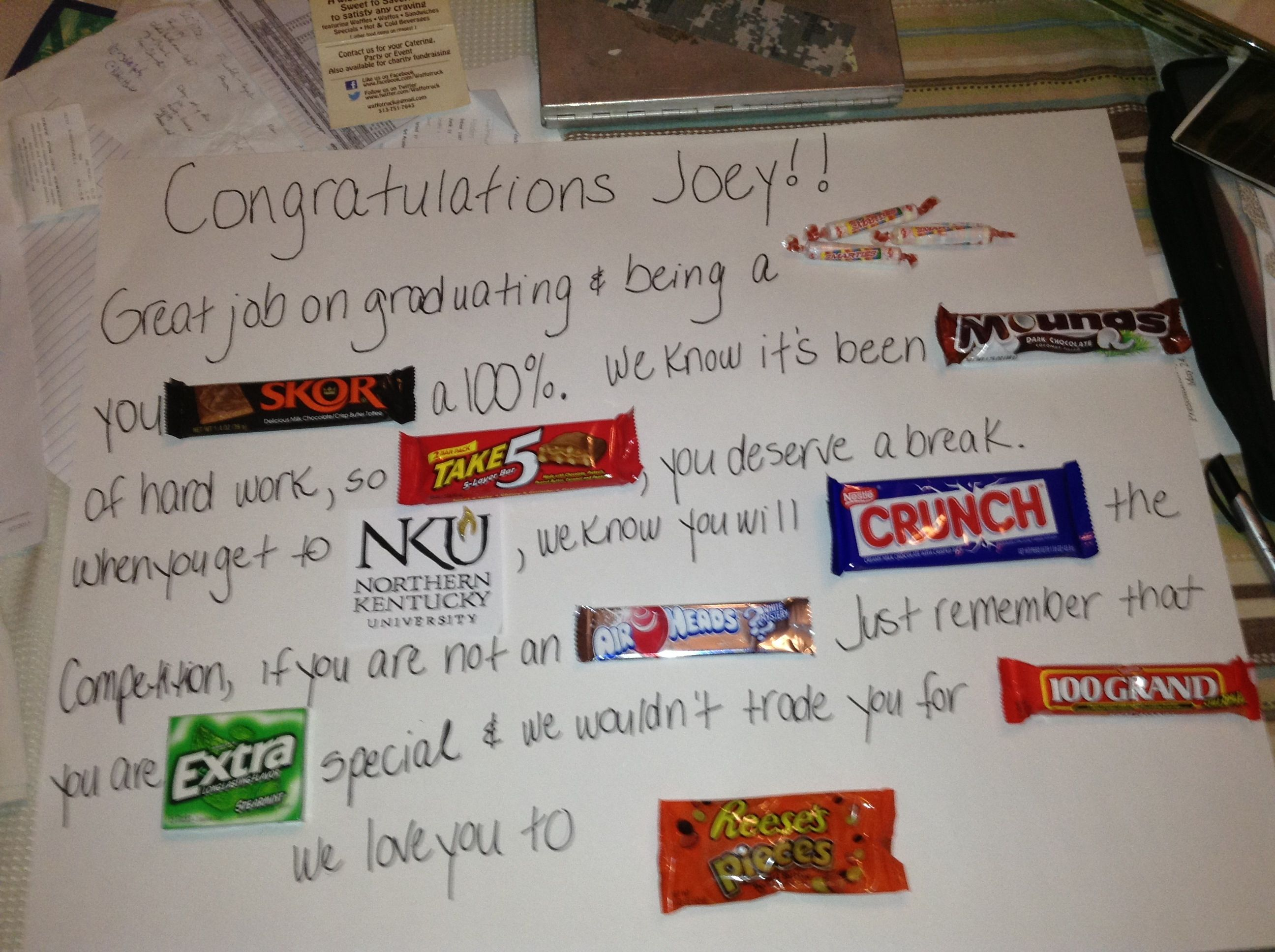 DIY candy poster for graduates of 2013!! | DIY | Pinterest ...