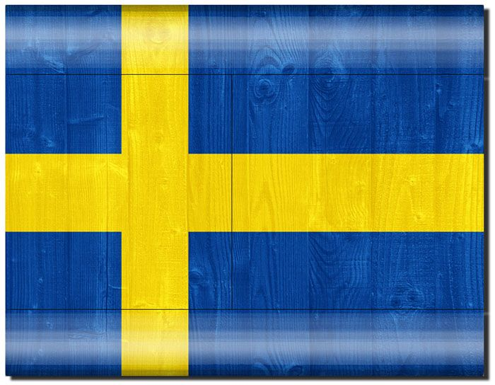 Cover Skin Stickers For Ps3 Game Console And Controllers With Swedish Flag Pattern Swedish Flag Ps3 Games Super Sale