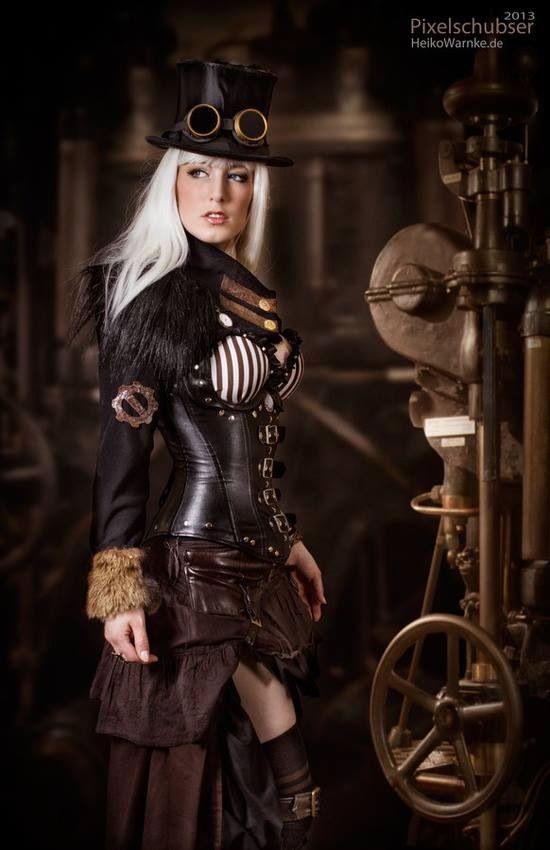 Resultado de imagem para steampunk moda