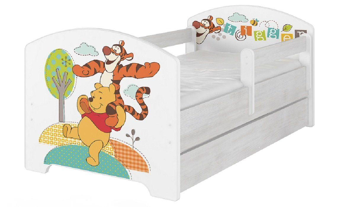 Winnie Pooh Kinderbett aus der Disney-Kollektion. Süsses Babybett ...