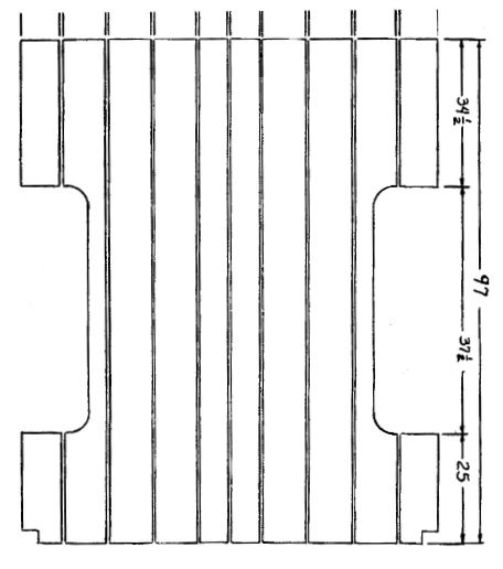 1952 Bed Wood Info Measurements Info Longer Bed Chevy Pickups