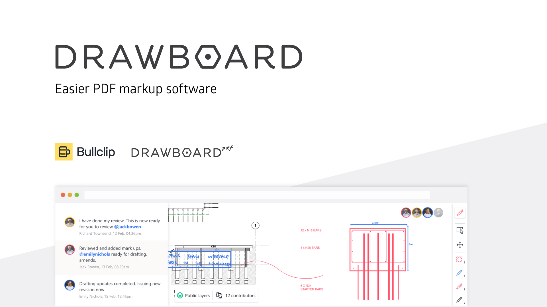 Drawboard Creates Easier Pdf Markup Software We Are Leading The Way In Digital Ink And Markup Collaboration For Architecture Digital Ink The Creator Software